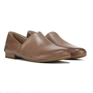 New! B.O.C. Suree Taupe Slip On Leather Loafers